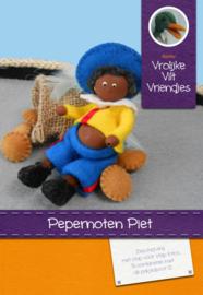 Pepernoten Piet Vilt Pakket Vrolijke Viltvriendjes