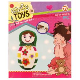 Haakpakket amigurumi voor kinderen pop