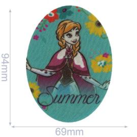 Anna Summer Frozen Opstrijkbare Applicatie