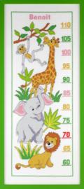 Groeimeter wilde dieren Aida telpakket Pako