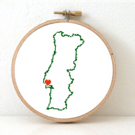 Portugal Borduurpatroon