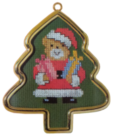 Beer als Kerstman Aida Vervaco Telpakket