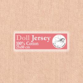 "Beige Doll Jersey 25x80cm / 9.8""x31.5"""