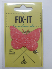 Vlinder Glitter Fix-it Applicatie