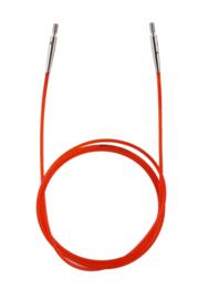 100cm Rode Kabel KnitPro