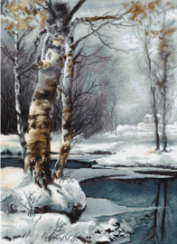 The Winter Aida Burduurpakket Luca-S