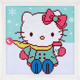 Hello Kitty in de Sneeuw Disney Diamond Painting