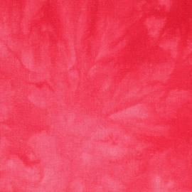 Rode Batik Tissu de Marie stof 150cm breed