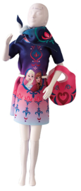 Twiggy Floral Magic Frozen Dress Your Doll
