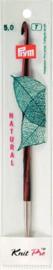 5mm Natural Verwisselbare Tunische Haaknaalden Prym KnitPro