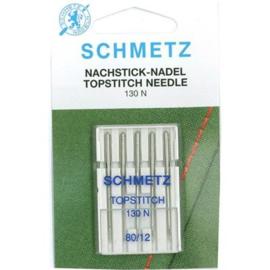 Topstitch Needles 130 N 80/12 Schmetz