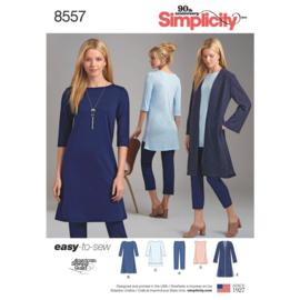 8557 A Simplicity maat XXS - XXL