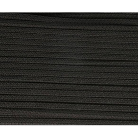 02 Zwart vierkant koord 5mm
