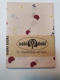 Lieveheersbeestjes Oaki Doki Fabrics