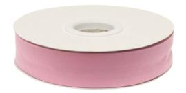 Roze Gevouwen Biasband 20mm p.m.
