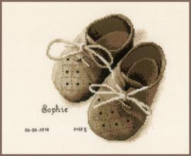 Eerste schoentjes Aida telpakket - Vervaco