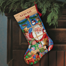 Santa's Toys Stocking Eavenwave telpakket Dimensions