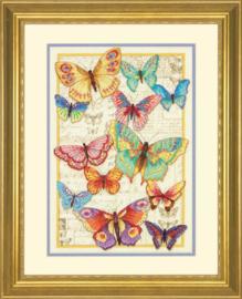 Butterfly Beauty Aida Dimensions Telpakket