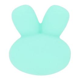 15mm Groen/ blauw konijnen siliconen kralen
