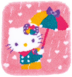 Hello Kitty a Shower of Hearts Knoop Kleed Vervaco