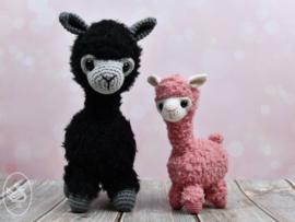 Alpaca Alexia Gehaakt Durable Cosy Extra Fine en Teddy