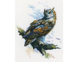 Eagle Owl Aida Borduurwerk RTO