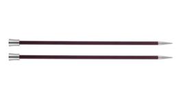 6mm Zing 40cm Breinaalden met Knop KnitPro
