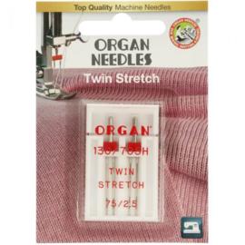 75 / 2.5 Stretch Tweeling Naalden Organ