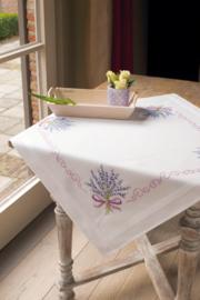 Lavendel voorbedrukt Tafelkleed Vervaco