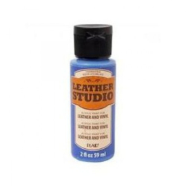 Bright Blue Leather Studio Paint 59 ml