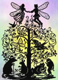 Fairy Tales: Thumbelina Aida telpakket Bothy Threads