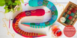 Sibling Snakes Gehaakt Scheepjes Softfun Colour Pack
