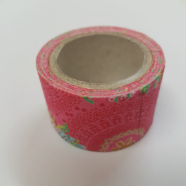 Roze Flower Power 2mx30mm Pimptape Oaki Doki