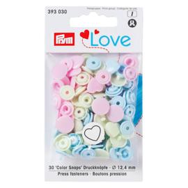 Love Color Snaps drukknopen - Prym