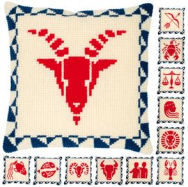 Astrologie Sterrenbeelden Kruissteekkussen Vervaco PN-0169792 Bevat Telpatroon voor alle Sterrenbeelden