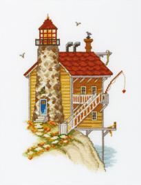 Lighthouse Stone Wall Aida RTO Telpakket