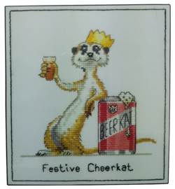 Peter Underhill festive Cheerkat