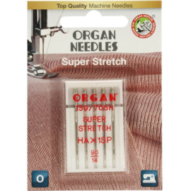 Super Stretch Organ Needles 90