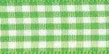5mm Groen Geruite Lint p.m.