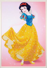 Sneeuwwitje Disney Princes Diamond Painting