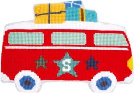 Op Vakantie met de Bus Lief! Kruissteek Vervaco Pakket