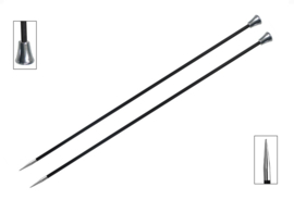 "KnitPro Karbonx  35cm/14"" Single Pointed Needles"