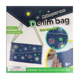 Naaipakket voor kinderen Denim handtas
