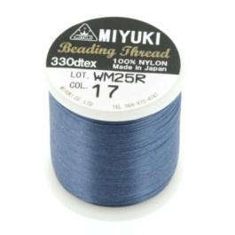 17 Donker blauw Beading Draad B Miyuki