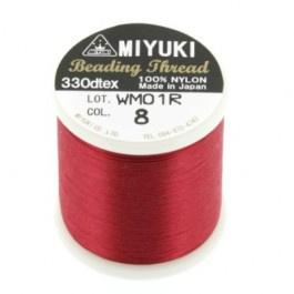 8 rood Beading Draad B Miyuki