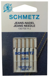 Jeans Needles 130/705 H-J 90/14, 100/16, 110/18 Schmetz