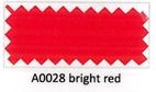 Flexfolie A0028 Bright red