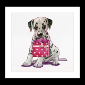 Puppy went shopping Aida telpakket Thea Gouverneur