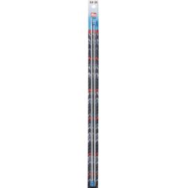 3.0mm Aluminium Breinaalden met knop 40cm Prym