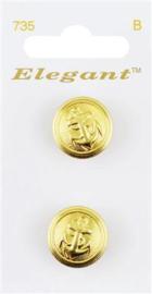 735 Elegant Knopen